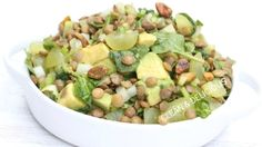Minted Lentil Salad With Grapes & Spinach | Clean & Delicious With Dani Spies