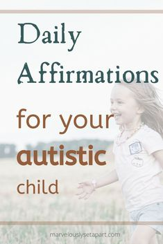 How important are affirmations for autistic children? Learn the importance of affirmations for children and what can you tell your children to lift them up everyday. Teaching Autistic Children, Children With Autism, Kids Learning, Adhd And Autism, Adhd Kids, Why Is Play Important, Parenting Workshop, Creative Writing Ideas, Affirmations For Kids