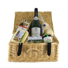 Our Luxury Summer Strawberry Cream Tea Picnic Hamper - from £43.50  Love #Wimbledon or not, our tennis-themed hampers are a strawberry-filled celebration of summer!    #wimbledon #tennis #picnic #outdoor #summer #strawberry