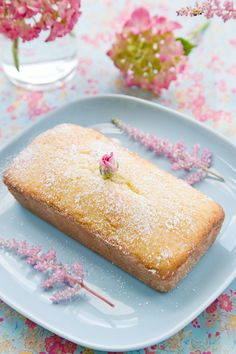 Honey Tea Cake (recipe from Miette cookbook) Substitute sugar with applesauce or other natural sweetener.