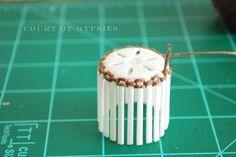 A Dollhouse Miniature Basket Tutorial