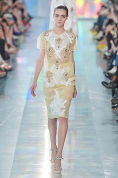 Christopher Kane    #fashion #dress #christopherkane #spring #2013
