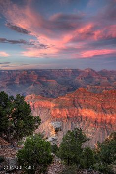 Yavapai Point, Grand Canyon National Park, United States.