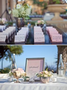 placecards and refreshments