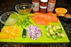 One Classy Dish: Roasted Salmon with Citrus Avocado Salsa