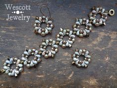 Pattern for Buta Bracelet Earrings and Pendant with ZoliDuo