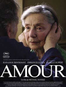 Amour, 2012 - I never really interested in a movie with old actors before, but not this. Oh and Issabelle Huppert is inside as bonus
