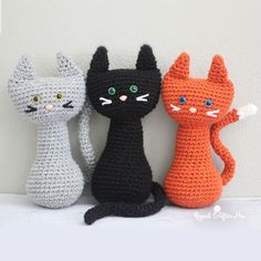 PURRfect kitty cat - Free amigurumi pattern