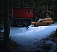 Simon Stalenhag (Swedish illustrator, digital painter, born 1984)