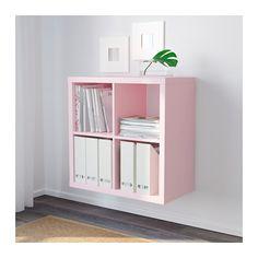 KALLAX Shelving unit, light pink light pink 30 3/8x30 3/8 $35