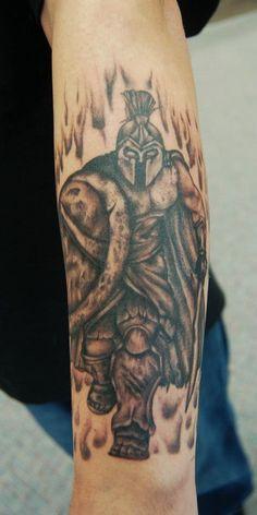 Sparta- Level Up Tattoo Studio