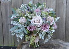 Pastel wedding bouquet by Daisy Ellen
