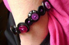 Button Bauble Bracelet