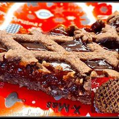 CROSTATA SACHER: la versione VELOCE della CLASSICA TORTA Biscotti, Italian Recipes, Waffles, Cheesecake, Breakfast, Desserts, Food, Design, Kuchen