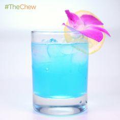 Clinton Kelly's Ocean Blue! #TheChew