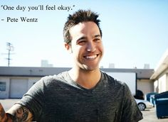 sometimes i wonder where i'd be without Fall Out Boy, without any of the members. I wouldn't even make it a day  if I didn't have their music, Their quotes, Their interviews that always make me smile. Fall Out Boy has gotten me through so much. and this is one of the MANY reasons why they are my favorite band.