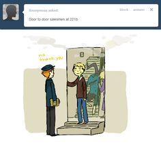 Sherlock Cast, Sherlock Fandom, Sherlock John, Sherlock Holmes, Sherlock Tumblr, Mrs Hudson, Sherlolly, It Goes On, Johnlock