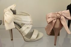 Vera Wang shoes. I got them in blush for the wedding! Love them!