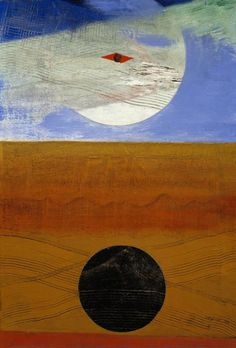 Mer et soleil (Sea and Sun) by Max Ernst, 1925. Oil on canvas, 54 x 37 cm. Scottish National Gallery of Modern Art.
