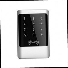 47.40$ Buy now - //aliitn.worldwells.pw/go.php?tu003d32705952656 - Brand New Metal Case Touch sensor Key Waterproof Rfid Door Access Controller with Keypad ... & Electronic RFID Entry Door Lock Access Control System + 10 Key Fobs ...