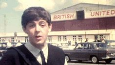 ladies and gentlemen, the beatles Paulie is too cute for life gif