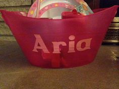 Easter basket for my niece