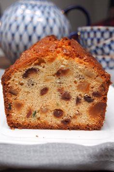 la recette parfaite du cake anglais aux fruits confits et au rhum