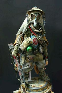 Post-apocalyptic doll by Yeon Guun Jeong/BHEAD