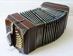 The bandoneon, the instrument that is the backbone of the Tango music and sound