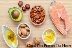 Foods For A Healthy Heart.Particularly important in this context is the quality of the fat. Healthy fats, these include primarily high-quality vegetable oils that are rich in unsaturated fatty acids, provide good protection against heart disease. In particular fats with a high Omega-3 content (linseed oil, hemp oil, etc) are to the heart of great value and should's be consumed daily