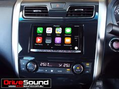 Nissan Altima with Apple CarPlay installed by DriveSound.