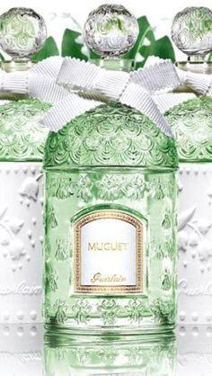 Guerlain Parfum - Luxurydotcom Beauty & Personal Care - Duft - Frauen - L . Guerlain Perfume, Cosmetics & Perfume, Antique Perfume Bottles, Vintage Perfume, Divine Parfum, Aftershave, Beautiful Perfume, Perfume Collection, Lily Of The Valley