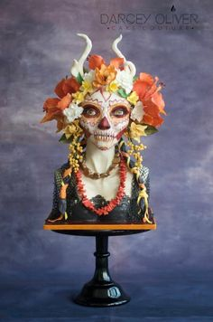 Lady of the Dead: Sugar Skull Bakers by Darcey Oliver Cake Couture