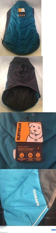Animals Dog: Ruffwear Powder Hound Hybrid Insulation Dog Jacket Coat Medium New Baja Blue BUY IT NOW ONLY: $74.99 #priceabateAnimalsDog OR #priceabate