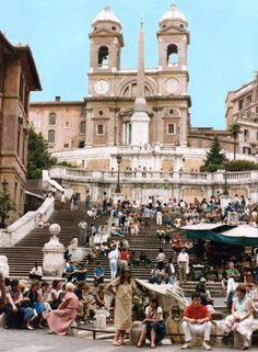 Location // Piazza di Spagna Rome