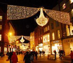 Christmas Lights in Dublin