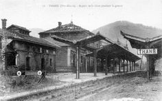 Gare de Thann pendant la guerre de 14-18