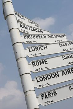Europe City Flight Travel Sign Stock Photo - Image of brussels, holland: 259984 One Direction Tour, Amsterdam, Taxi, Airport Signs, Travel Directions, Directional Signs, World Cities, Menorca, Travel Aesthetic
