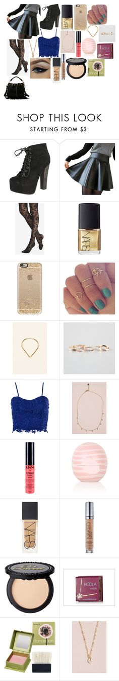 """Fifth Harmony concert"" by camielizabethf ❤ liked on Polyvore featuring Breckelle's, Express, NARS Cosmetics, Casetify, Full Tilt, Dorothy Perkins, NYX, Topshop, Urban Decay and Benefit"