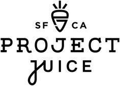 SF CA Project Juice in Logotype / Mark