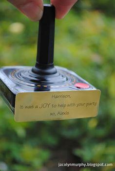 Video Game Party Favors...Joy Sticks