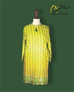 Printed Shirt Full sleeves Fabric: Lawn Full Sleeves, Dresses With Sleeves, Printed Shirts, Lawn, High Neck Dress, Yellow, Long Sleeve, Fabric, Summer