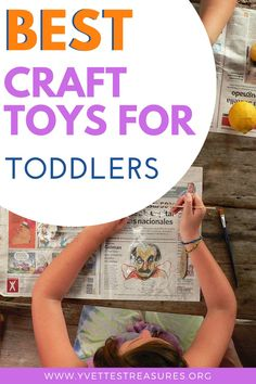 Best Craft Toys For Toddlers - Help your kids learn by building and drawing. Arts and Crafts are very important for a child's growth plus they are loads of fun. #crafttoysdiy #crafttoysforkids #artandcrafts #toys Toddler Crafts, Toddler Toys, Kids Toys, Creative Christmas Gifts, Christmas Toys, Diy For Kids, Gifts For Kids, Camping Gifts, Toy Craft