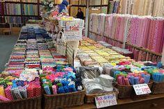 Nippori Fabric Street