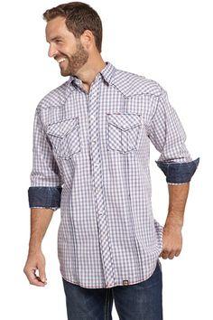 Vintage Washed Longsleeve Woven Shirt