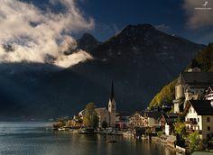 #200. Morning in Hallstatt. Salzkammergut. Austria - http://www.oskinpavel.com/