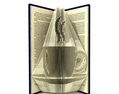 Book folding pattern BOOK ENDS 196 folds Tutorial with