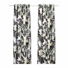 Amazon.com - Ikea JANETTE Pair of curtains - gray - 2 Panels