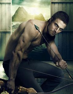 Stephen Amell (Arrow, Oliver) My inner fangirl is drooling a little.
