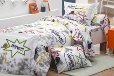 COMICS : parure de lit enfant coton, motifs imprimés, TRADILINGE Comforters, Toddler Bed, Blanket, Furniture, Home Decor, Street Art, Images, Inspiration, Creature Comforts